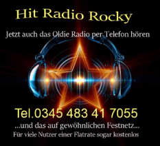 Oldies Hören mit dem Handy  www.hit-radio-rocky.de